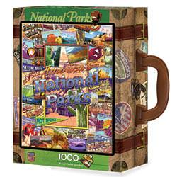 【美國 Master Pieces】手提箱拼圖-National Parks 國家公園(1000片)
