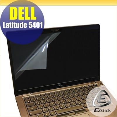【Ezstick】DELL Latitude 5401 靜電式筆電LCD液晶螢幕貼 (可選鏡面或霧面)