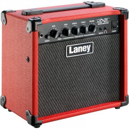 【金聲樂器】LANEY LX15 RD/LX-15 RD 紅色 電吉他 音箱 15瓦