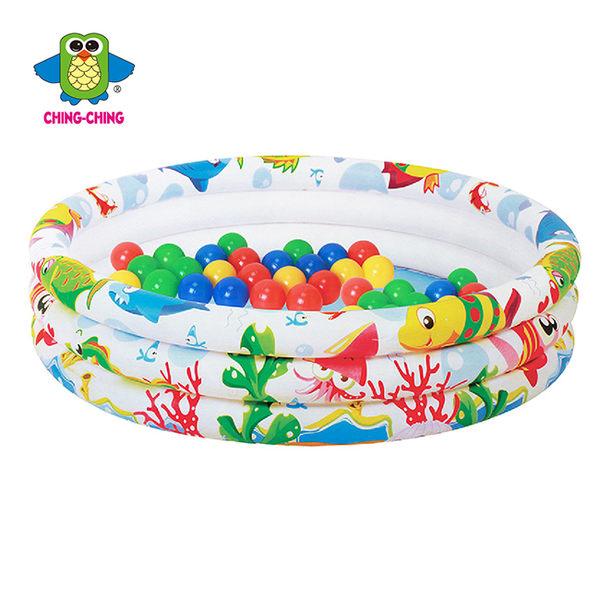 【親親】海洋世界三環水池(小)+50顆6公分球