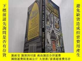 二手書博民逛書店The罕見haunted house Joke book鬼屋笑話書Y212829