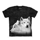 【摩達客】(預購)美國進口The Mountain 狼兄狼弟 純棉環保短袖T恤(10416045018a)