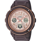 CASIO 卡西歐 BABY-G 秋冬優雅手錶-咖啡 BGA-150PG-5B1 / BGA-150PG-5B1DR