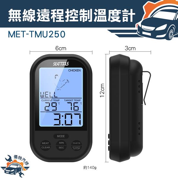 『儀特汽修』牛排店專用肉質熟度 溫度控制器 無限遠端測量 遠端控制溫度計 MET-TMU250
