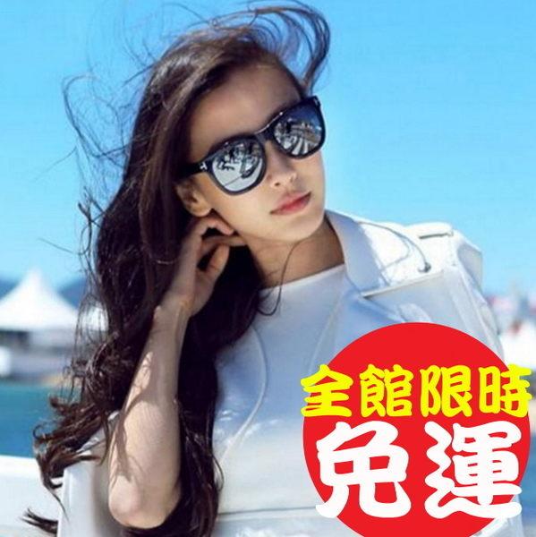 太陽眼鏡男女墨鏡復古眼鏡圓框眼鏡偏光眼鏡近視眼鏡飛行員經典明星同款200j7【Brag Na義式精品】