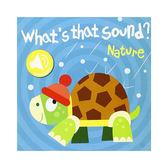 What's That Sound? Nature 大自然篇 硬頁音效書