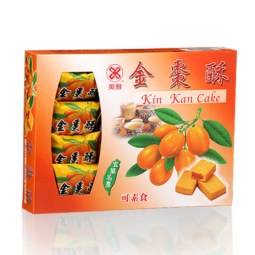 【美雅】美雅宜蘭餅 金棗酥X3盒