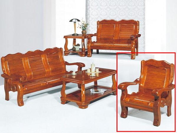 沙發組 KO-16-2 110型1人組椅 (不含大小茶几)【大眾家居舘】