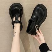 娃娃鞋 單鞋女2021新款瑪麗珍厚底松糕大頭鞋學院風可愛日系圓頭小皮鞋