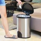 【+O家窩】諾曼腳觸感應不鏽鋼垃圾桶25L (清潔 回收 分類 智慧 自動 掀蓋)