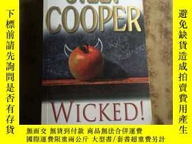 二手書博民逛書店Wicked!罕見by Jilly Cooper (英文原版)Y