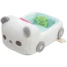 【角落生物 熊貓車車】角落生物 熊貓車車 絨毛娃娃擺飾 ss號專用 角落小夥伴 該該貝比