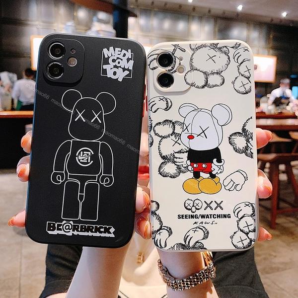 熊熊系列|三星 Note20 Ultra S20 S21 Ultra 5G S20+ S21+ S10+ Note9 卡通熊 手機殼 有掛繩孔 保護套 軟殼