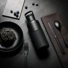 HYDY 油墨黑-黑瓶 時尚保溫水瓶 480ml