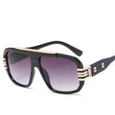 歐美太陽眼鏡 大框墨鏡防紫外線 個性太陽鏡【五巷六號】y89