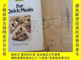 二手書博民逛書店For罕見Quick Meals (500 Recipes)Y2