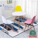 北歐椅餐椅現代簡約凳子家用椅辦公椅塑料靠背網紅椅電腦洽談桌椅【福喜行】
