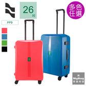 LOJEL 羅傑 行李箱 OCTA2 26吋 框架PP拉桿箱 旅行箱 防震材質 PP9 得意時袋