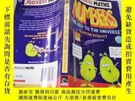 二手書博民逛書店murderous罕見maths numbers:the key to the universe殺氣騰騰的數學數字