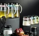 調味罐套裝 廚房調料盒鹽罐調料罐子玻璃調料瓶組合套裝家用調味罐收納盒【快速出貨八折下殺】