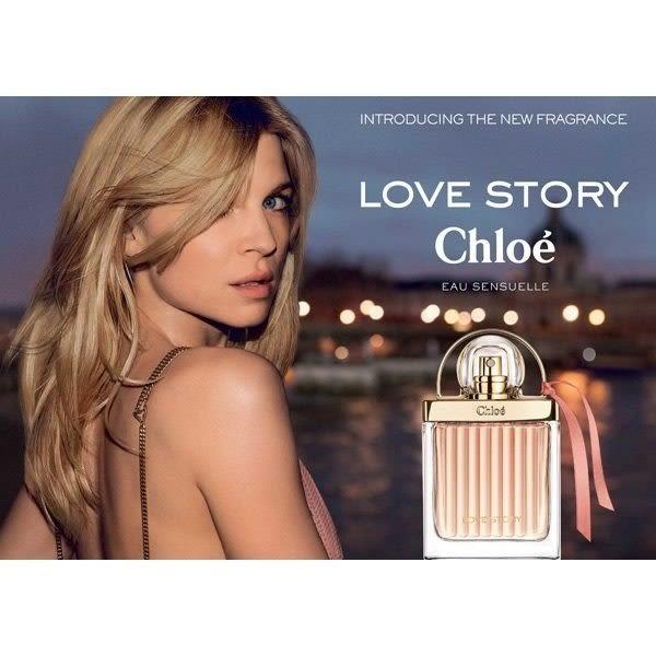 Chloe Love Story 愛情故事 日落巴黎 淡香精 50ml◐香水綁馬尾◐