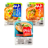 韓國 百濟米麵線 海鮮味/泡菜味/越南河粉味 92g/100g【庫奇小舖】