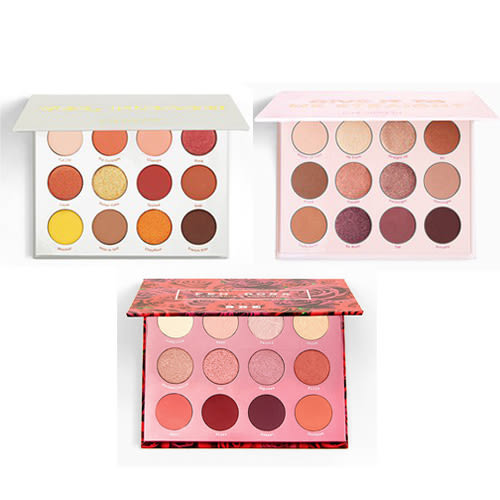 COLOURPOP YES PLEASE / GIVE IT TO / FEM ROSA SHE 眼影盤 0.85gx12《小婷子》