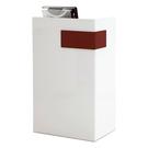 【森可家居】卡昂2尺白色多功能桌 11JF331-3 櫃台 櫃檯 接待 收銀台 講台 講桌