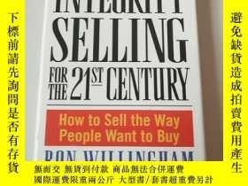 二手書博民逛書店Integrity罕見Selling for the 21st