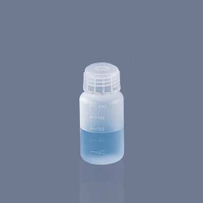 《AS ONE》廣口瓶 刻度 PP Bottle, Wide-Mouth, PP
