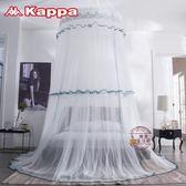 新款吊頂蚊帳圓頂免安裝6*6尺床雙人家用單雙人床公主風·樂享生活館liv