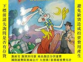 二手書博民逛書店Who罕見framed ROGER RABBIT A Different Toon A Golden Look-L