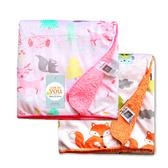嬰兒空調毯 珊瑚絨超輕柔毛毯 寶寶抱被 推車被 RF01001 好娃娃