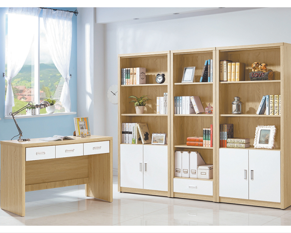 【YUDA】北歐風 原切 純白 全木心板 波麗漆 4尺 書桌/寫字桌/書檯 I0X 334-44