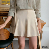 東京著衣-MERONGSHOP-甜姐兒奶油派波浪傘擺短裙-S.M(E190024)
