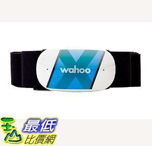 [7美國直購] 心率監測器 Wahoo TICKR X Heart Rate Monitor with Memory, Bluetooth ANT+