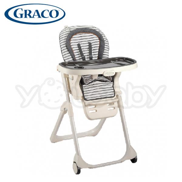 【2019 新品】GRACO 3 in 1 TABLE2TABLE 成長型多用途餐椅 -簡約條紋