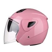 頭盔男士機車半盔覆式電瓶車輕便四季女士電動車安全帽