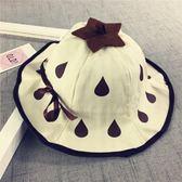 嬰兒帽春夏草莓盆帽寶寶帽子漁夫帽帽女童遮陽帽春秋防曬太陽帽