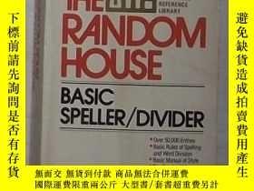 二手書博民逛書店英文原版罕見Random House Basic Speller