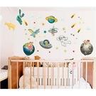 【收藏天地】創意生活*宇宙太空旅行壁貼/ 家飾 居家 裝飾 佈置 環保