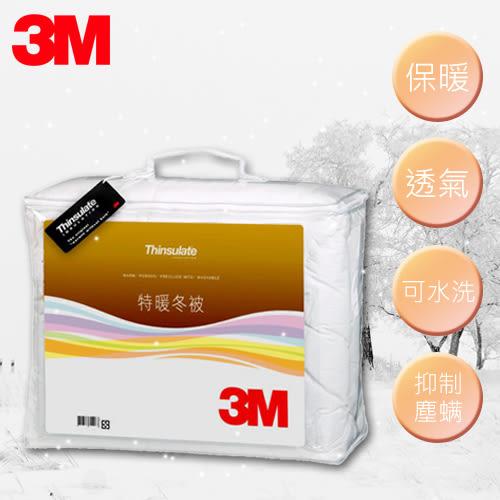 【秋冬必被】3M 新絲舒眠 Z500 特暖冬被 標準雙人 可水洗 棉被 保暖 透氣 抑制塵螨