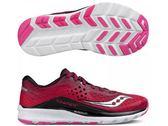 SAUCONY 女馬拉松鞋 KINVARA8 (桃紅) 緩衝型訓練鞋【 胖媛的店 】S10356-1