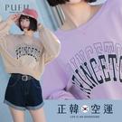 限量現貨◆PUFII-大學T 正韓短版英...