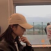 鴨舌帽百搭光板棒球帽秋冬時尚休閒遮陽帽子【橘社小鎮】
