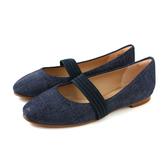 Clarks Grace Faye 平底鞋 娃娃鞋 深藍色 女鞋 軟墊 CLF41941SD19 no014