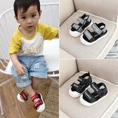 寶寶涼鞋男1-3歲夏季兒童女童小童包頭鞋子一嬰兒防滑軟底學步鞋2【快速出貨】