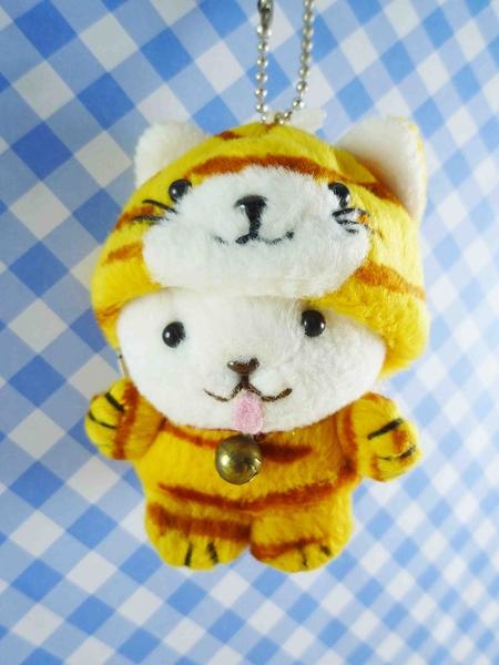 【震撼精品百貨】日本日式精品_熊_Bear~變身絨毛娃娃-熊變老虎