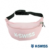 K-SWISS TW Waist Bag休閒運動腰包-粉紅