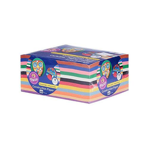 [COSCO代購] C577178 PACON 進口多用途美工彩色紙 每包648張/648 SHEETS